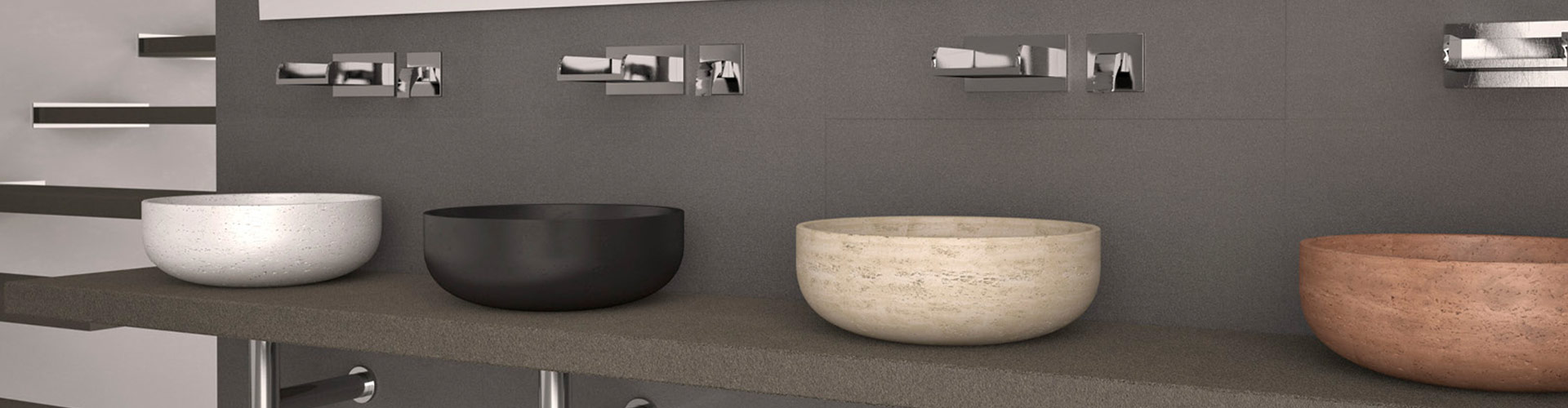 Glass Design - Banyo Dolabı